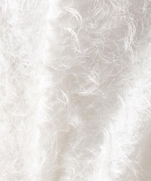 beautiful people(ビューティフルピープル)/【セットアップ対応商品】cut fur cloth top/1715110001_img07