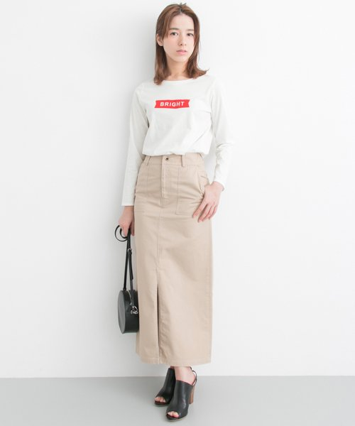 URBAN RESEARCH OUTLET(アーバンリサーチ アウトレット)/【UR】BRIGHTロゴTee【アーバンリサーチ】/UR7421X001_img02