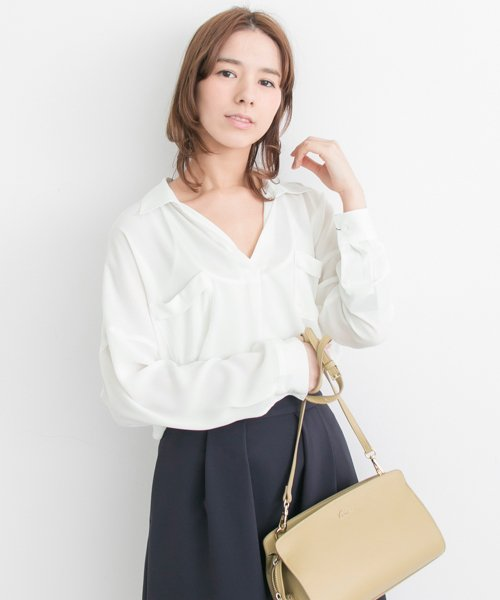 URBAN RESEARCH OUTLET(アーバンリサーチ アウトレット)/【UR】とろみスキッパーブラウス【アーバンリサーチ】/UR7423Q005_img03
