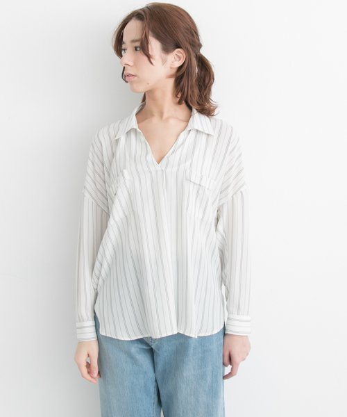 URBAN RESEARCH OUTLET(アーバンリサーチ アウトレット)/【UR】とろみスキッパーブラウス【アーバンリサーチ】/UR7423Q005_img05