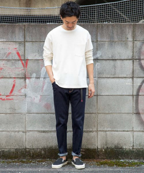 『Mt Design 3776xGramicci』:別注デニムMountain Pants 画像2
