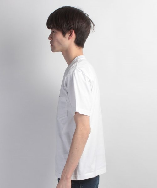 JNSJNM(ジーンズメイト メンズ)/【HANES】BEEFY‐T ポケットTシャツ/214276007_img01