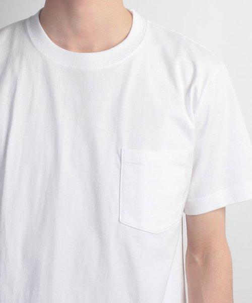 JNSJNM(ジーンズメイト メンズ)/【HANES】BEEFY‐T ポケットTシャツ/214276007_img03