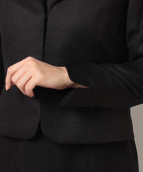 form forma(フォルムフォルマ)/【勝山織】ダブルショールカラーブラックフォーマルスーツ/0603604_img09