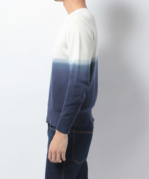 URBAN RESEARCH OUTLET(アーバンリサーチ アウトレット)/【WAREHOUSE】綿レーヨンバイカラーニット/WH7412M015_img03