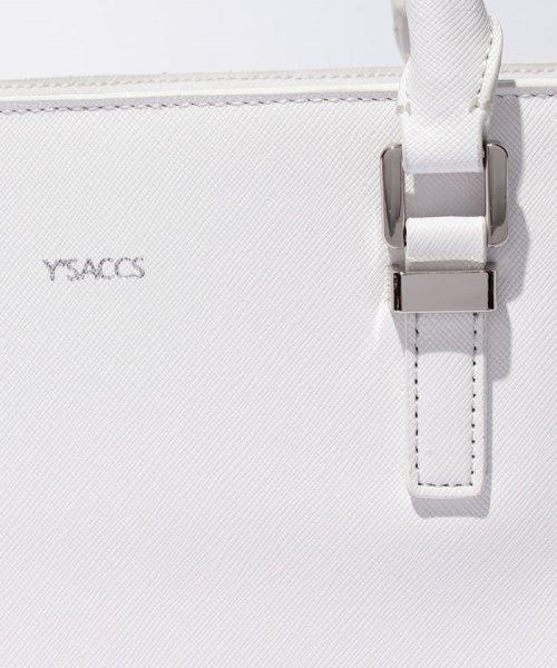 Y'SACCS(イザック)/プリズム型押しトートバッグ Sサイズ/Y711002_img07