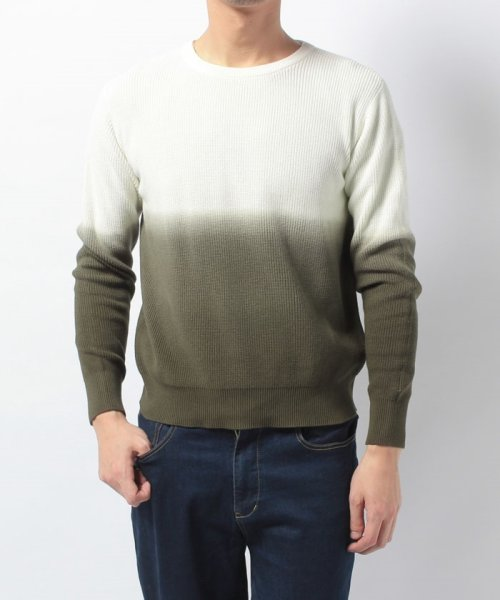 URBAN RESEARCH OUTLET(アーバンリサーチ アウトレット)/【WAREHOUSE】綿レーヨンバイカラーニット/WH7412M015_img08