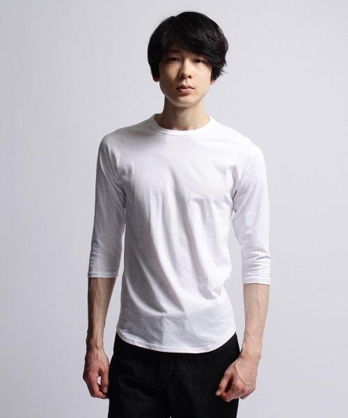 BASECONTROL(ベースコントロール)/inner light raglan 3/4 t shirt/99990922311044_img09