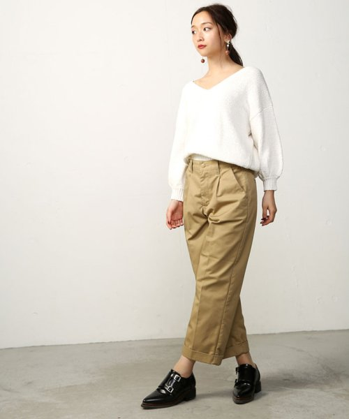 AZUL by moussy(アズールバイマウジー)/Wrangler×AZUL TAPERED PANTS/250ASS316061_img01
