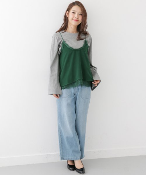 URBAN RESEARCH OUTLET(アーバンリサーチ アウトレット)/【WAREHOUSE】レースレースキャミ/WH7423N016_img02