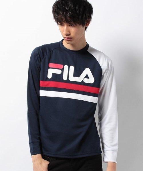 FILA(フィラ)/ロゴプリント長袖カットソー/417319_img12