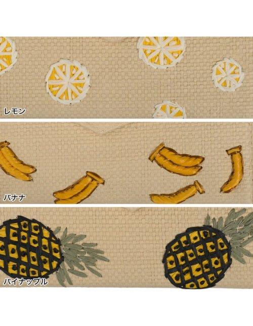 Re:EDIT(リエディ)/[LA]フルーツ刺繍クラッチバッグ/121868_img05