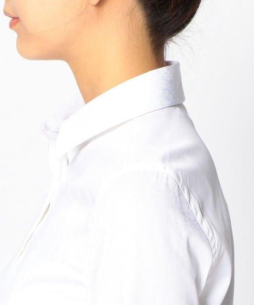 NARA CAMICIE(ナラカミーチェ)/ペイズリープリント長袖シャツ/107101319_img09