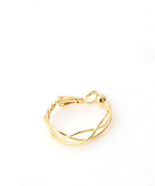 colleca la(コレカラ)/小さめ編みフープイヤリング/queite/426063_img04