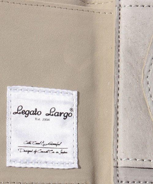 Legato Largo(レガートラルゴ)/【Legato Largo】ピッグスウェード 三つ折りミニ財布/LUM0731_img06