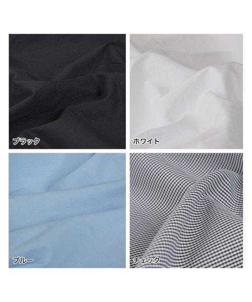 Re:EDIT(リエディ)/マルチウェイノーカラーシャツトップス/121801_img11
