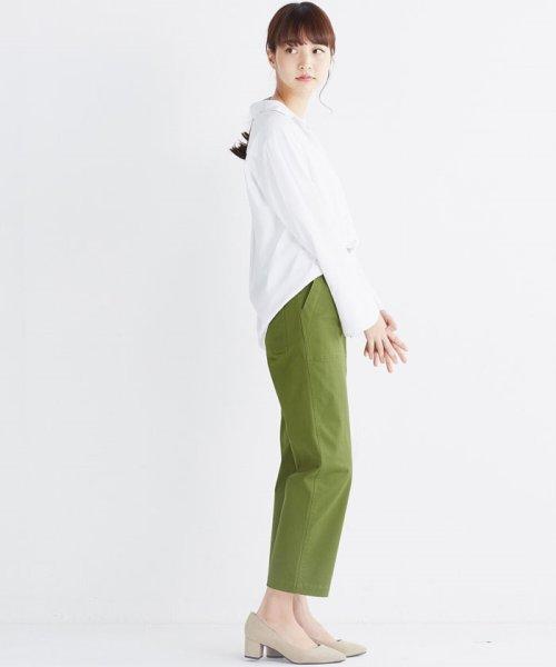haco!(ハコ)/これ1枚で女っぽさを手に入れる なめらか素材の袖フレアーシャツ/449536_img15