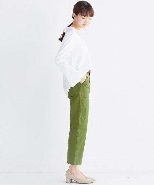 haco!(ハコ)/これ1枚で女っぽさを手に入れる なめらか素材の袖フレアーシャツ/449536_img16