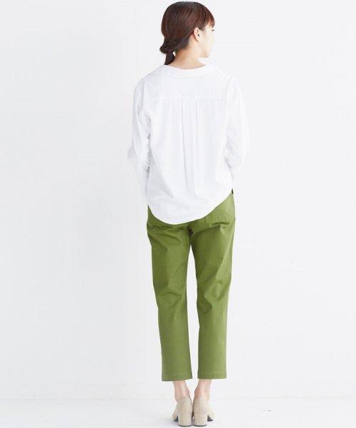 haco!(ハコ)/これ1枚で女っぽさを手に入れる なめらか素材の袖フレアーシャツ/449536_img17