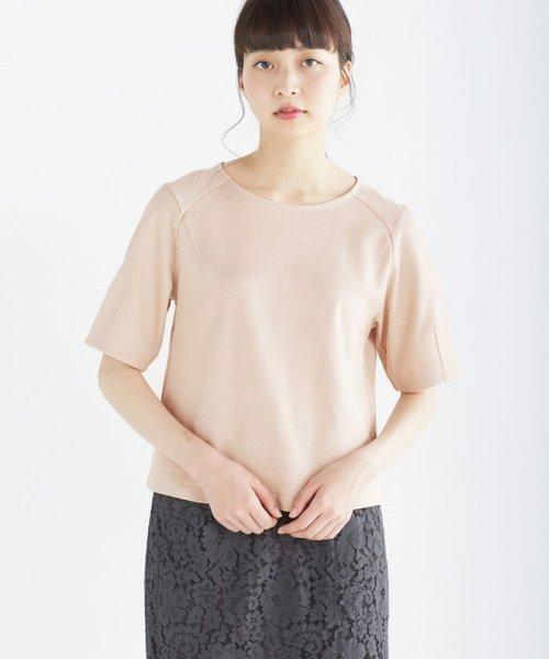 haco!(ハコ)/made in Japan ハニカム素材でしっかり&今気分なトップス/452107_img21