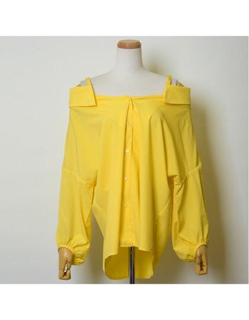 Re:EDIT(リエディ)/ストラップ付きストライプシャツ/121676_img01