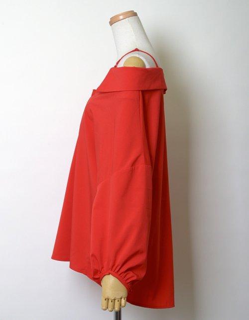 Re:EDIT(リエディ)/ストラップ付きストライプシャツ/121676_img10