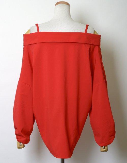 Re:EDIT(リエディ)/ストラップ付きストライプシャツ/121676_img11
