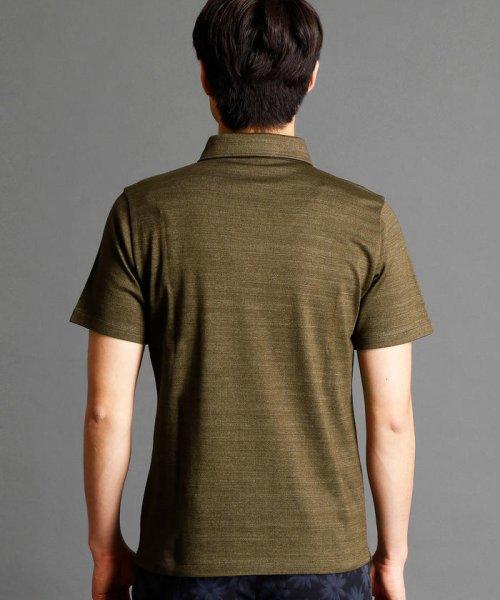 MONSIEUR NICOLE(ムッシュニコル)/インディゴ風ポロシャツ/7262-9521_img01