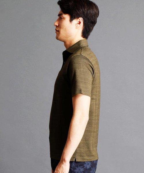 MONSIEUR NICOLE(ムッシュニコル)/インディゴ風ポロシャツ/7262-9521_img02