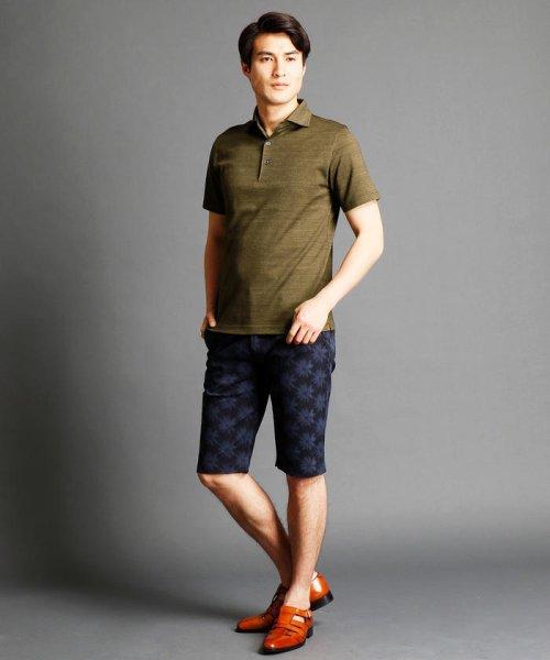 MONSIEUR NICOLE(ムッシュニコル)/インディゴ風ポロシャツ/7262-9521_img06