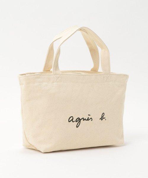 agnes b. Voyage(アニエスベー ボヤージュ)/GO03‐02 ロゴトートバッグ/M771VSA9E17C_img02