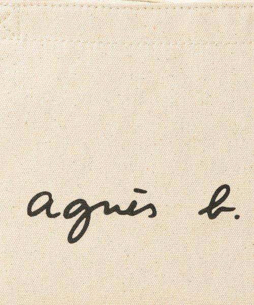 agnes b. Voyage(アニエスベー ボヤージュ)/GO03‐02 ロゴトートバッグ/M771VSA9E17C_img04