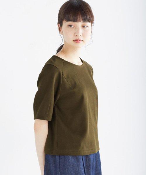 haco!(ハコ)/made in Japan ハニカム素材でしっかり&今気分なトップス/452107_img06