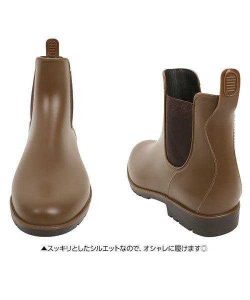 KOBE LETTUCE(神戸レタス)/サイドゴアレインブーツ/I1309_img05