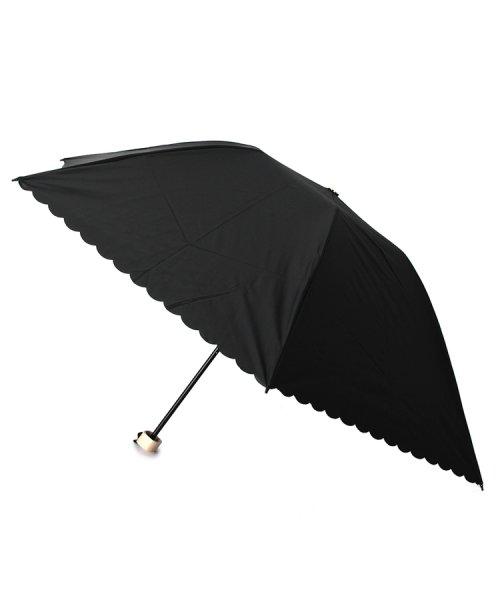 grove(グローブ)/晴雨兼用スカラップドット折り畳み傘/99990976941111_img01