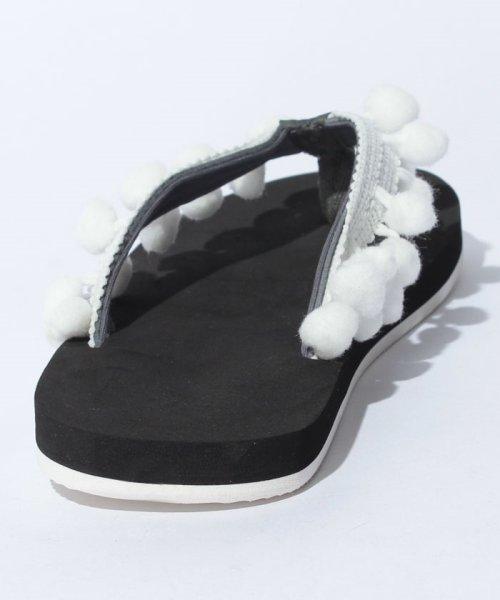 VacaSta Swimwear(バケスタ スイムウェア(レディース))/【CALIFORNIA SHORE】スタンプサンダル/227023_img02