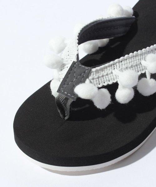 VacaSta Swimwear(バケスタ スイムウェア(レディース))/【CALIFORNIA SHORE】スタンプサンダル/227023_img05