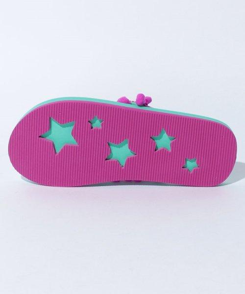 VacaSta Swimwear(バケスタ スイムウェア(レディース))/【CALIFORNIA SHORE】スタンプサンダル/227023_img07