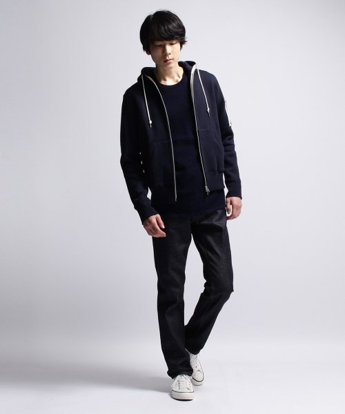 BASECONTROL(ベースコントロール)/【MADE IN JAPAN】吊り裏毛MA-1パーカ/99990922331022_img08