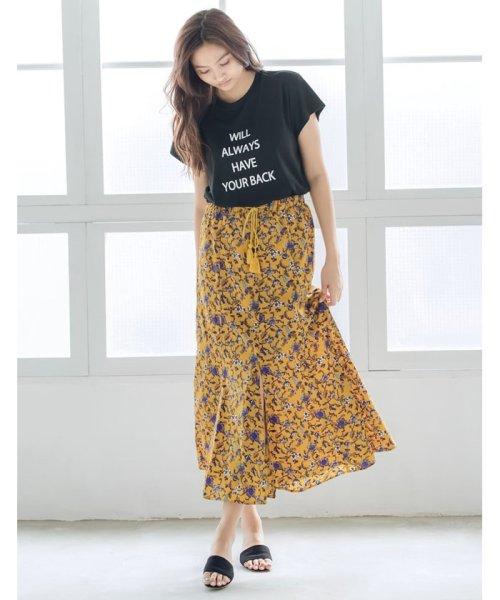 Re:EDIT(リエディ)/メッセージプリントTシャツ/121863_img03