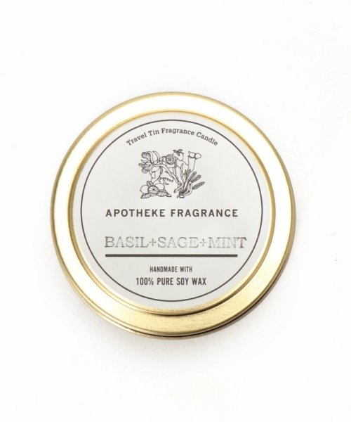 SAVE KHAKI(セイブカーキ)/APOTHEKE FRAGRANCE Tin Candle/17090612002210_img03