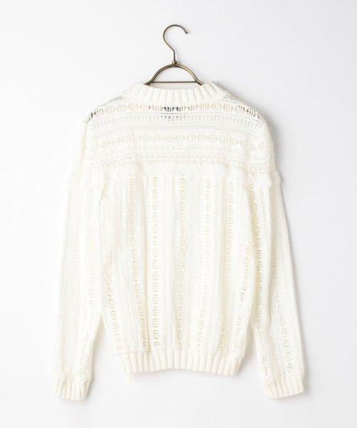NOLLEY'S(ノーリーズ)/S 【Sea New York/シー ニューヨーク】 Striped Gauze Sweater (RS16-111)/60206101002_img01