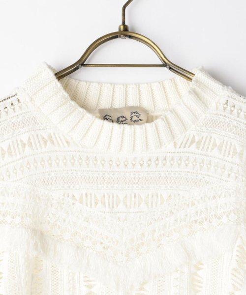 NOLLEY'S(ノーリーズ)/S 【Sea New York/シー ニューヨーク】 Striped Gauze Sweater (RS16-111)/60206101002_img02