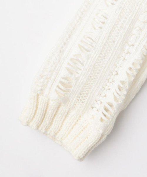 NOLLEY'S(ノーリーズ)/S 【Sea New York/シー ニューヨーク】 Striped Gauze Sweater (RS16-111)/60206101002_img03