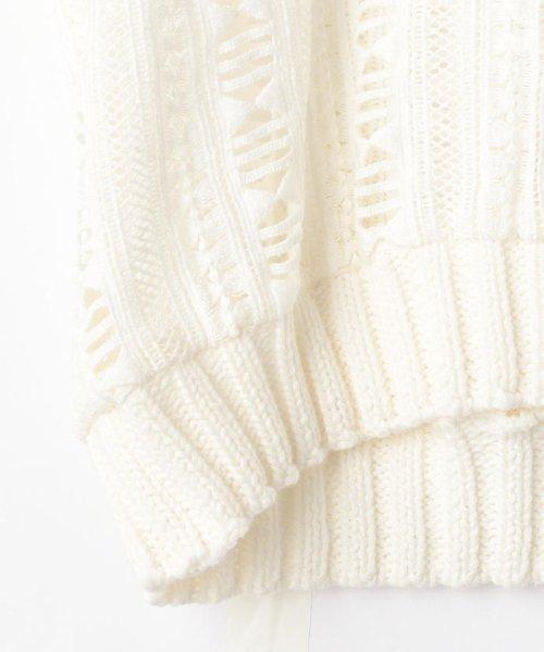 NOLLEY'S(ノーリーズ)/S 【Sea New York/シー ニューヨーク】 Striped Gauze Sweater (RS16-111)/60206101002_img04