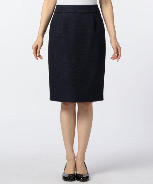 NOLLEY'S(ノーリーズ)/ドビーボーダータイトスカート/70055106001_img01