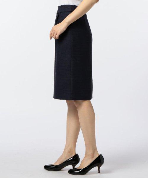 NOLLEY'S(ノーリーズ)/ドビーボーダータイトスカート/70055106001_img02