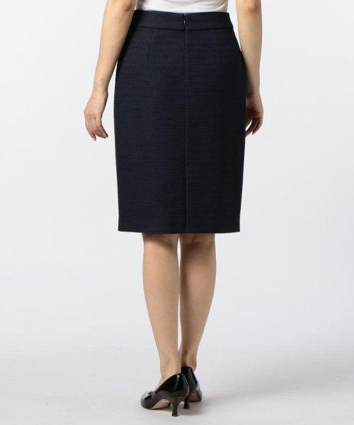 NOLLEY'S(ノーリーズ)/ドビーボーダータイトスカート/70055106001_img03