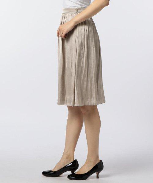 NOLLEY'S(ノーリーズ)/ヴィンテージサテンギャザースカート/70055106003_img02