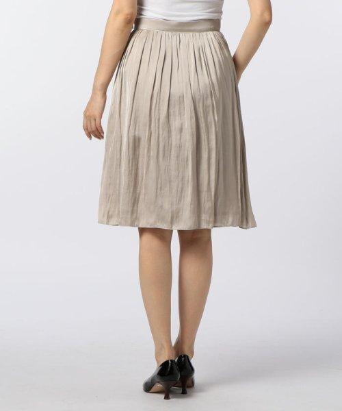 NOLLEY'S(ノーリーズ)/ヴィンテージサテンギャザースカート/70055106003_img03